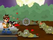 Play Ben 10 Zombie Halloween