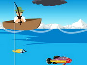 Play Ben10 Fishing Game