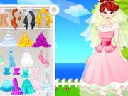 ベスト花嫁のドレスアップ