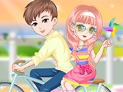 Play Bicycle Trip With Lover