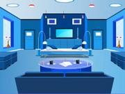 青の部屋脱出