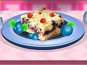Play Blueberry Shortbread Bars