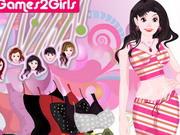 Play Brenda Skirt Girl Dressup