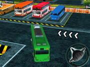 バスの乗務員駐車場3D