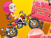 Play Candy Motocross Crash 2