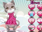 猫の女神ドレスアップ