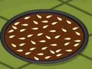 栗の小麦粉アプリコットカカオケーキ
