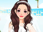 チョコレート髪の花嫁