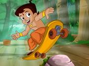 Play Chota Bheem Skate Board