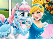 Play Cinderella And Her Pony