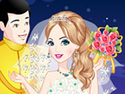 Play Cinderella Wedding Dress Up