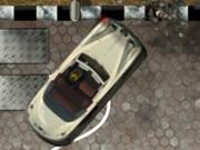 クラシックカーの駐車場