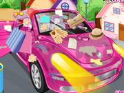 きれいに私の新しいピンクの車3