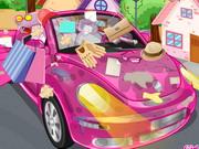クリーンマイピンクの車2
