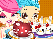 Play Color Girls Hello Kitty Desserts