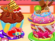 Play Cooking Academy Decor My Cupcake
