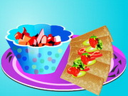 Play Cooking Annie Fruit Salsa