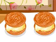 料理フレンジー:チュロスアイスクリームサンドイッチ