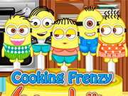 Play Cooking Frenzy: Minion Lollipops