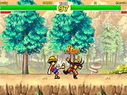 Play Creetor Animation Fighting: Luffy Vs Naruto