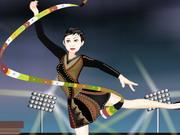 Play Crissy Gymnastic Girl Dressup