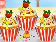 Play Cupcake Party: Toffee Popcorn Cupcakes
