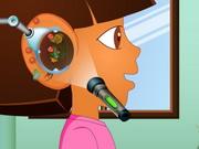 ドラの耳を治します