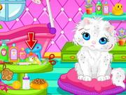 Play Cute Cat Bathing