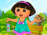 Play Cute Dora Dress Up