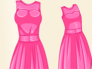 Play Design Barbie And Baby Matching Dress
