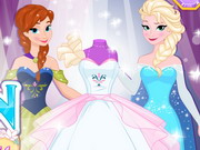 Play Design Your Frozen Wedding Dress