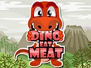 ディノは、肉を食べます