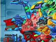 ディノディノロボット軍団