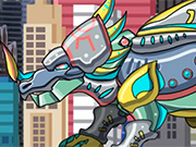 Play ディノロボットスティラコサウルス