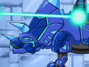 Play Dino Robot Tricera Blue