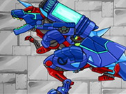 Play Dino Robot Tyrano And Tricera