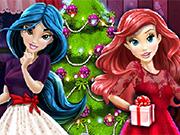 Play Disney Princesses And The Perfect Christmas Tree