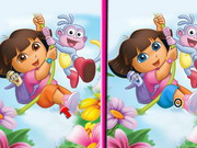 Play Dora 6 Differences