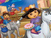 Play Dora And Diego Online Coloring