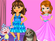Play Dora and Sofia Beauty Contest