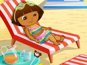 Dora At Beach