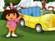 Play Dora At Car Show
