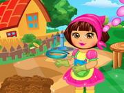 Play Dora At The Farm