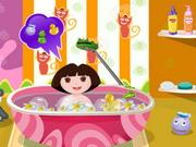 Play Dora Baby Bath
