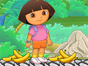 Play Dora Banana Feeding