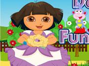 Play Dora Boots Fun Maths