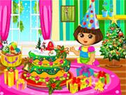 ドラクリスマスケーキ