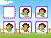 Play Dora Cute Butterfly Matching