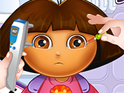 Play Dora Eye Doctor