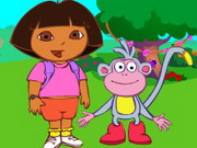 Play Dora Find Boots